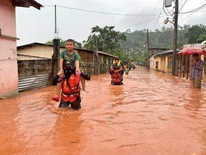 Eta hurricane affecting coffee farmers in Honduras